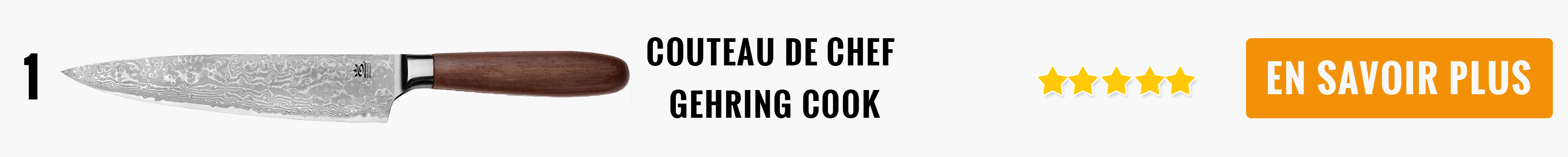 Couteau de chef Gehring Cook